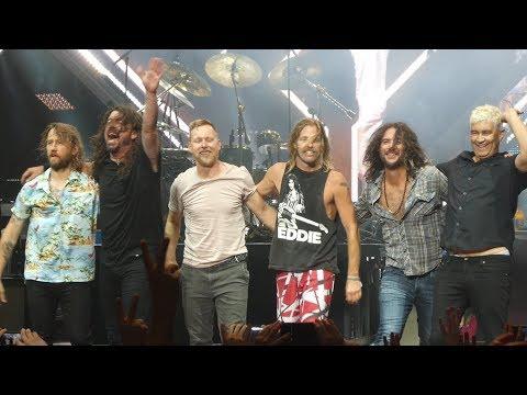 """Everlong"" Foo Fighters@Merriweather Post Pavilion Columbia, Md 7/6/18"