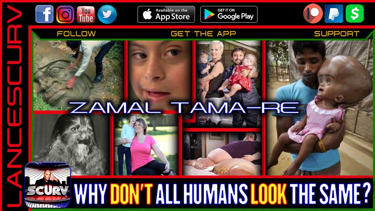 WHY DON'T ALL HUMANS LOOK THE SAME? - ZAMAL TAMA-RE