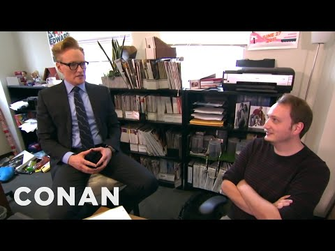 Thumbnail: Conan Gives Staff Performance Reviews - CONAN on TBS