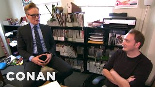 Conan Gives Staff Performance Reviews  - CONAN on TBS thumbnail