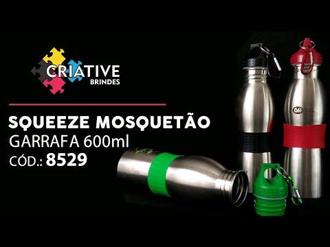 Squeeze Alumínio 600ml 8529 Personalizado