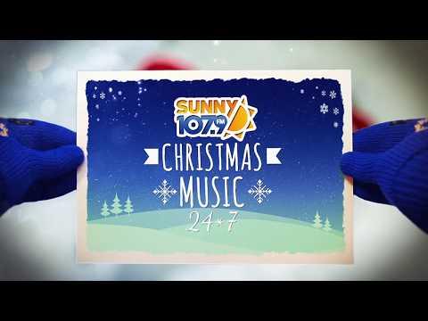 Christmas Music 24/7 on Sunny 107.9