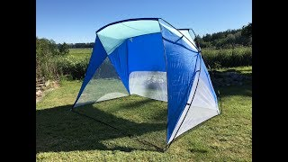 Caravan Canopy Sport Shelter Unboxing, Setup, Takedown, Review