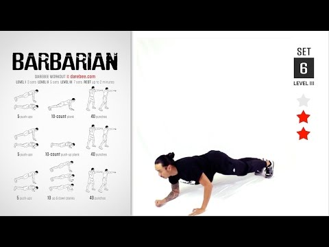 Barbarian Workout Full Strength Tone 30 Min