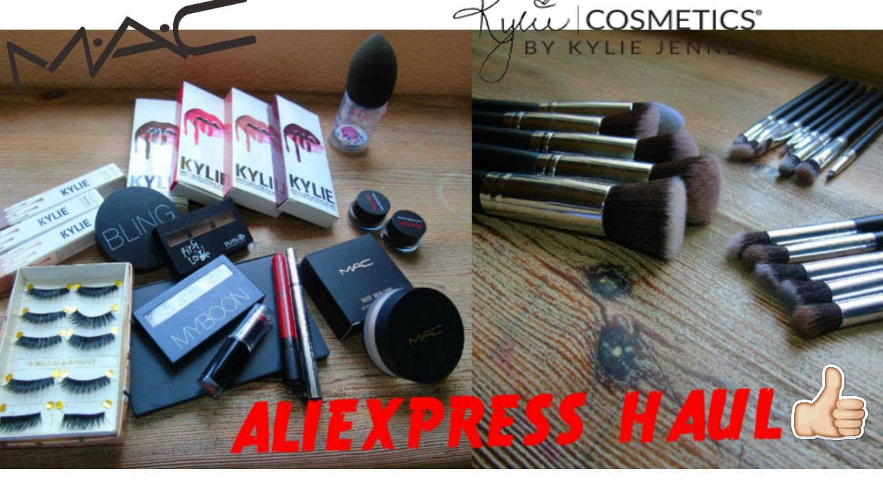 Aliexpress haul #1 | Beautyblender. MAC. Kylie Cosmetics and more
