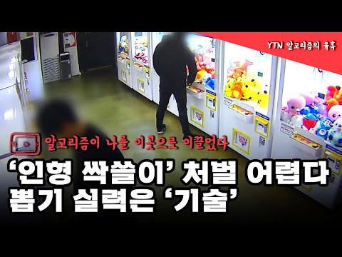 '인형 싹쓸이' 처벌 어렵다...뽑기 실력은 '기술' / YTN