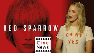 Red Sparrow – Interview: Jennifer Lawrence