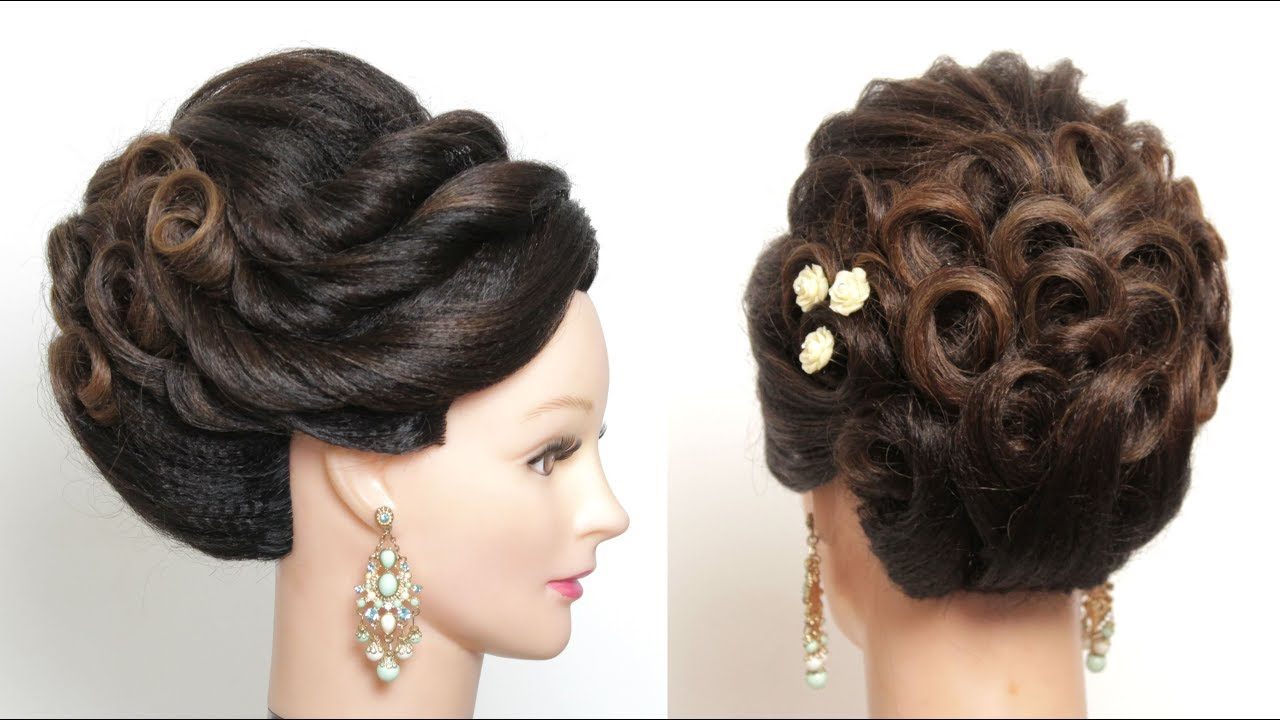 new updo tutorial. beautiful bridal hairstyle for long hair