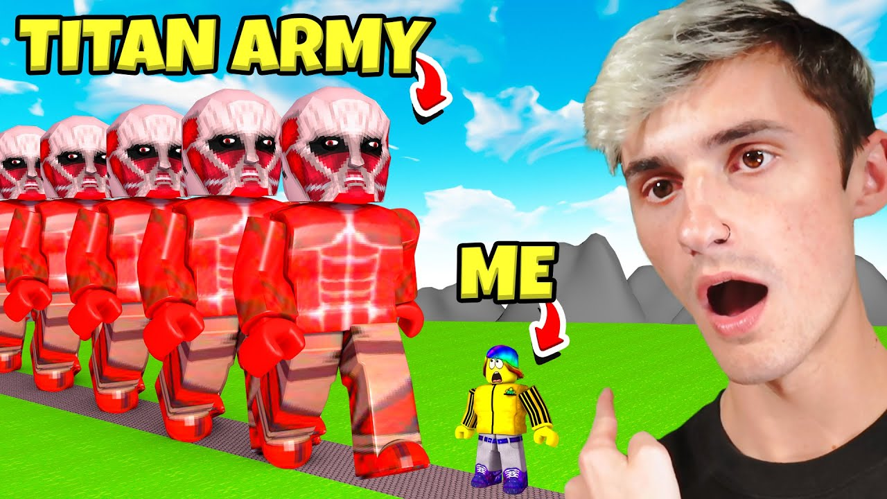 They showed me the ENDLESS TITAN MOVE!! SO MUCH MONEY! (Roblox)