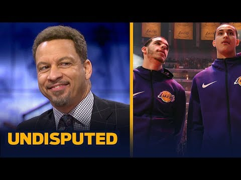Chris Broussard evaluates the Lakers' young players performance without LeBron | NBA | UNDISPUTED
