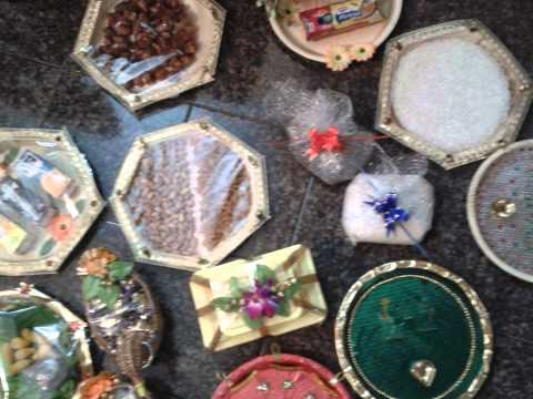 Video aarathi plates for Arathi thattu decoration