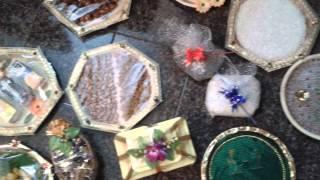Watch now amazing art of decorating tray plates for Arathi thattu decoration