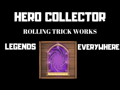 Hero Collector | For Cosmo | Legendaries Everywhere |  Hero Rolling Trick Works 100% | Castle Clash