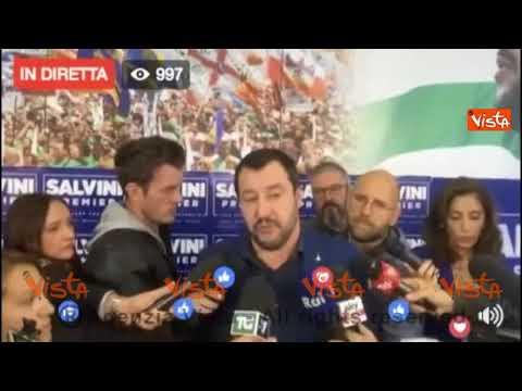 Referendum autonomia, Salvini: non penso governo se ne freghi del voto di 5mln di cittadini #t