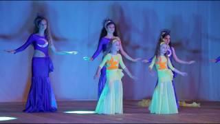 """Отчетный концерт """"Бисер"""" 2016 - Начинающие дети и юниоры 1 год обучения  bellydance"""