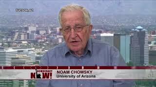 Noam Chomsky über Trump und die NATO (Democracy Now)