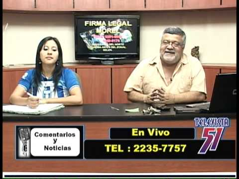 Comentarios y Noticias ,Canal 51 ,Tegucigalpa Honduras 11/10/13 parte 2