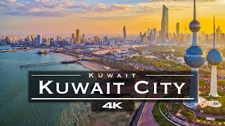 Kuwait City, Kuwait 🇰🇼 - by drone [4K] | مدينة الك...