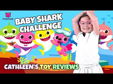 Pinkfong Baby Shark Challenge by Cathleen's Toy Reviews | #BabySharkChallenge