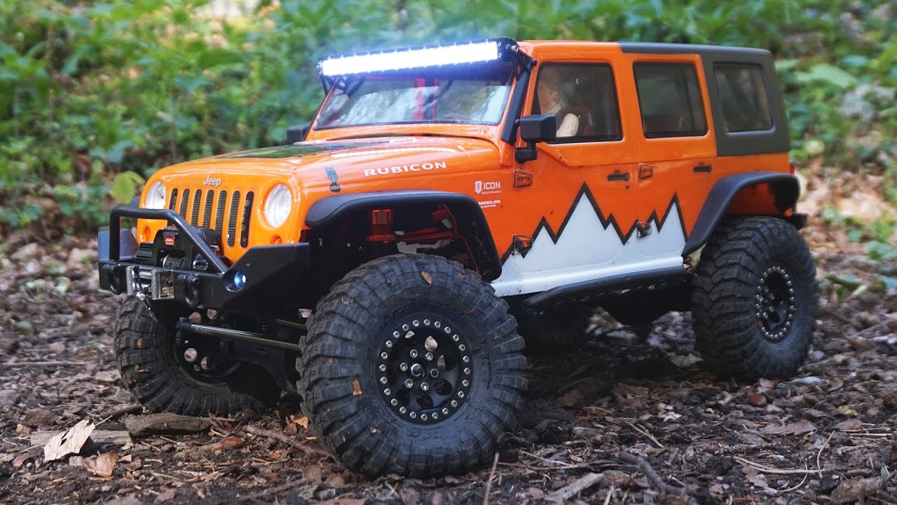rc trailing introduction jeep wrangler unlimited axial scx10 youtube. Black Bedroom Furniture Sets. Home Design Ideas