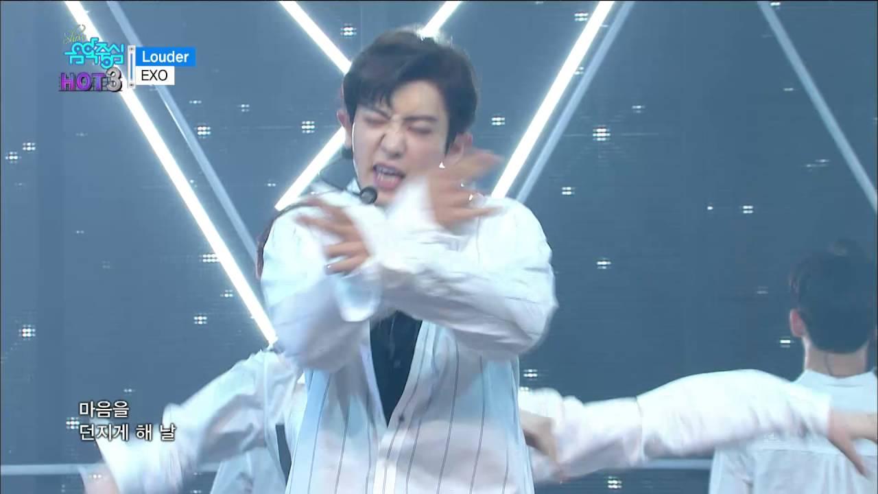 Tvpp Exo Louder 엑소 라우더 Show Music Core Live Youtube