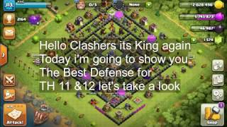 Clash Of Clans TH 11 & 12 Best Defense ANTI-EVERYTHING BASE 2018