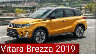 Maruti Suzuki Vitara Brezza 2019 Facelift First Look, Price, Features, Specifications