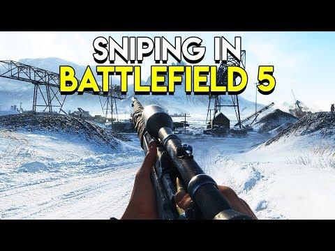 Sniping in Battlefield 5 thumbnail