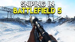 Sniping in Battlefield 5