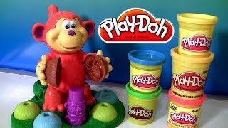 Play Doh Coco Nutty Monkey Playset By Hasbro Playdoh Macaquinho Maluco Massinhas Clay