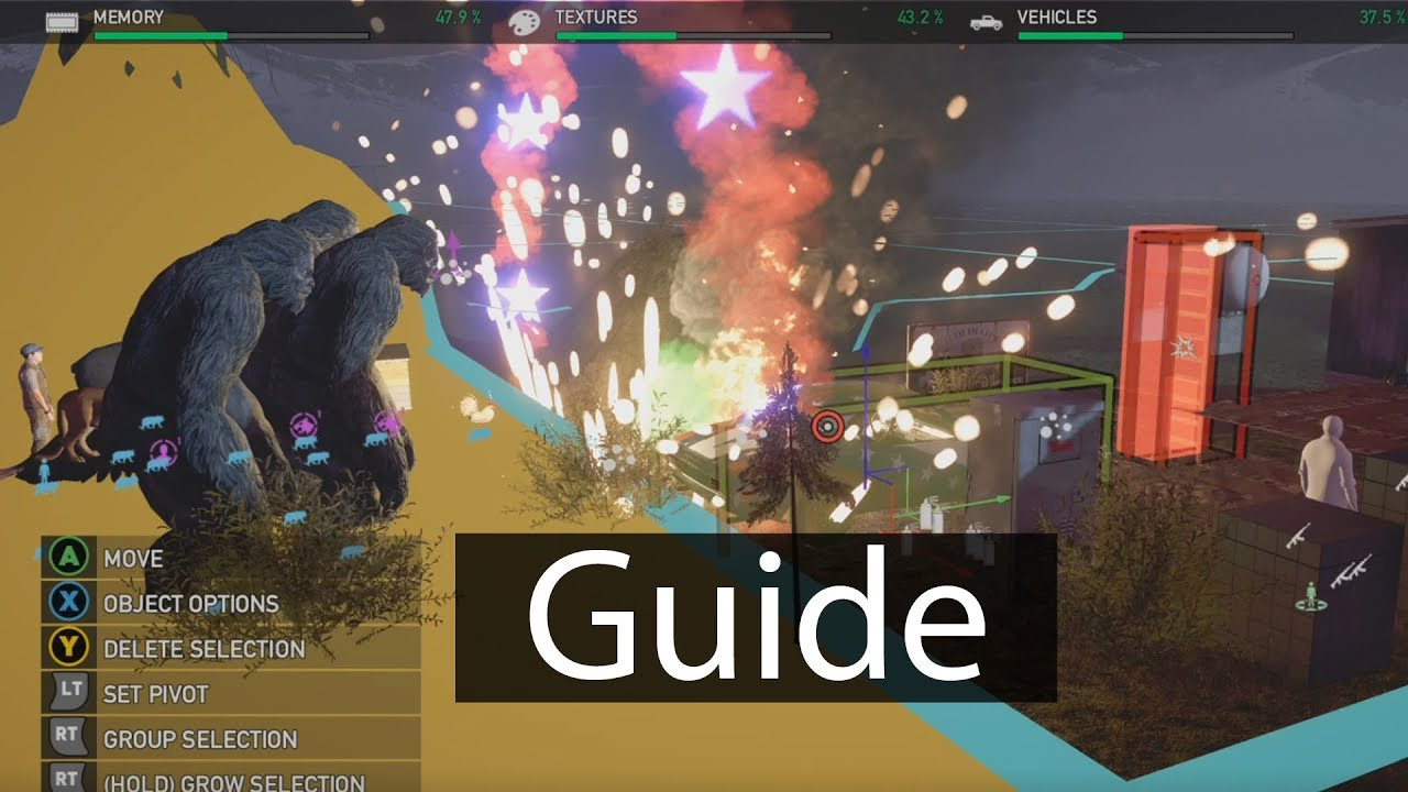 Far Cry 5 Arcade Editor Guide Tips And Tricks Youtube