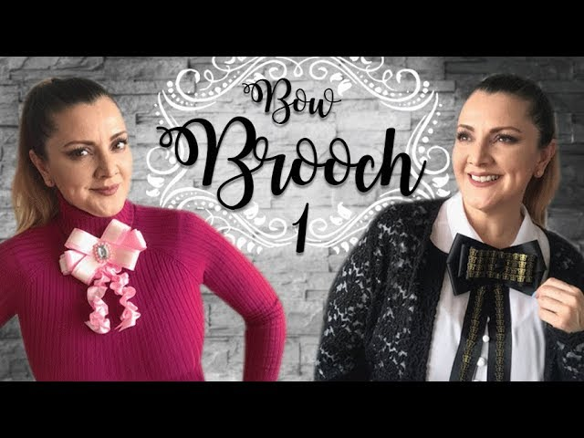 Bow Brooch Parte 1 :: Corbatín Broche estilo Gucci :: Chuladas Creativas Bowties