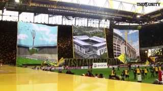 Borussia Dortmund - Bayern München CHOREO