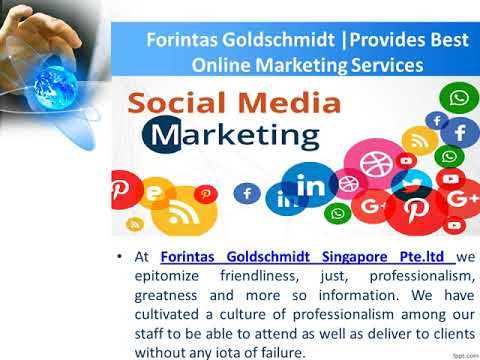 Forintas Goldschmidt Provides Best Online Marketing Services to the Companies