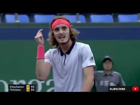 Shanghai R2 : Stefanos Tsitsipas vs Karen Khachanov Highlights