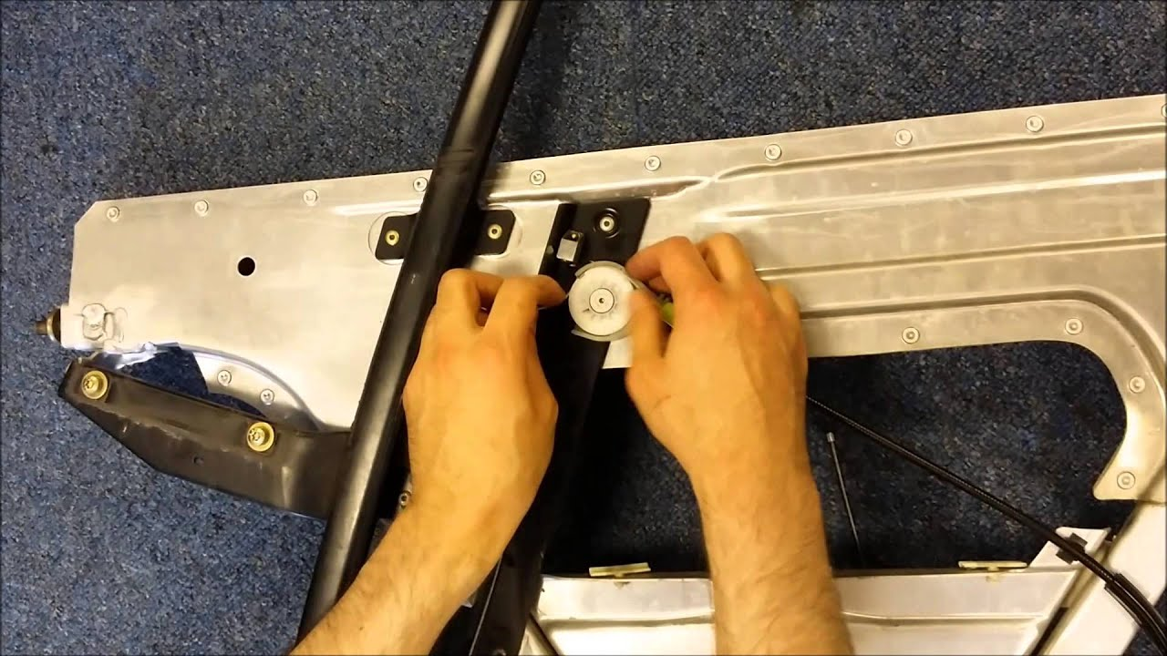 audi tt 98 06 8n window regulator repair works. Black Bedroom Furniture Sets. Home Design Ideas