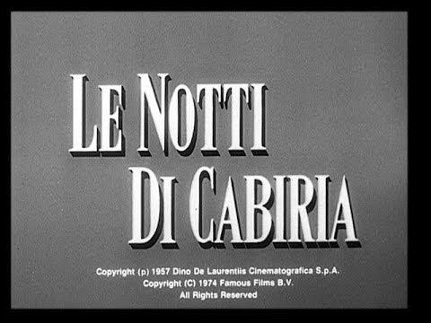 Trailer do filme Noites de Cabíria