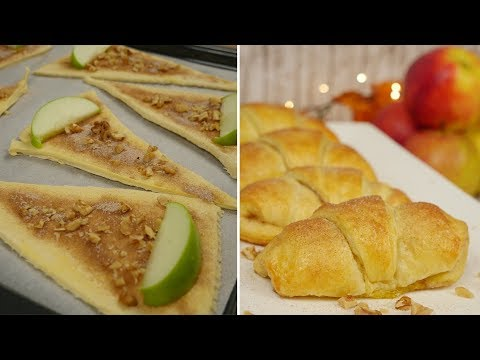 Mini Apple Pie I Schnelle Apfelküchlein I Apfeltaschen