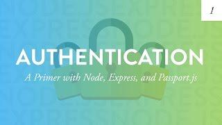Node Authentication Tutorial
