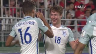 فيديو| إنجلترا تخطف الصدارة من كوريا في كأس العالم للشباب