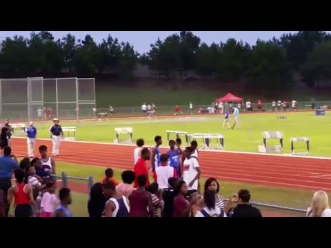 Byram Middle School Track Meet 400 M 3-19-15