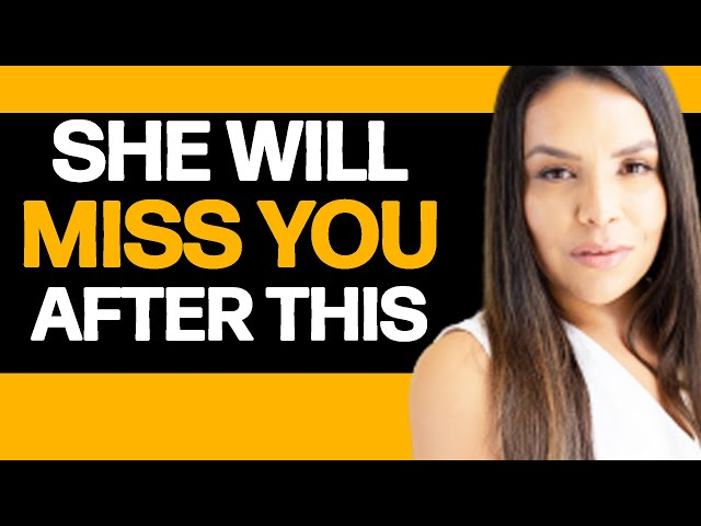 DO THIS To Make Her MISS YOU Today!   Apollonia Ponti