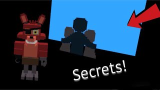 The secrets have been revealed | Roblox FNAF World RP REMASTERED