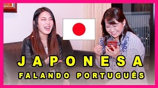 JAPONESA FALANDO PORTUGUÊS | Déborah Hudz