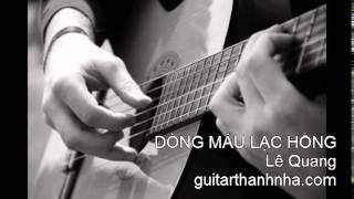 DÒNG MÁU LẠC HỒNG - Guitar Solo, Arr. Thanh Nhã