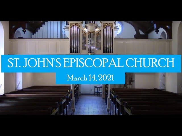 St  John's service March 14, 2021