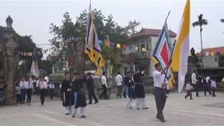 Rước kiệu tôn vinh cha thánh Giuse Nguyễn Đình Nghi mừng 177 năm tử đạo