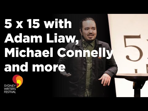 Sydney Writers' Festival: 5 x 15 with Adam Liaw, Michael Connelly and more