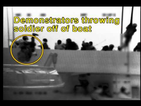 Close-Up Footage of Mavi Marmara Passengers Attacking IDF Soldiers
