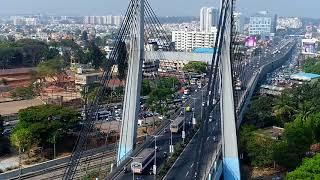 Bengaluru  Arial View   Drone View   Silicon CityI
